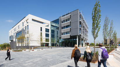 The UWE Bristol Business school building