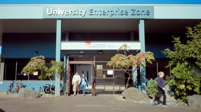 University Enterprise Zone from the outside