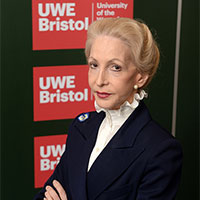 Lady Barbara Judge at UWE Bristol