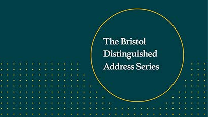 Bristol Distinguished Address Series logo