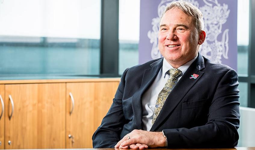 Portrait of UWE Vice-Chancellor Steve West