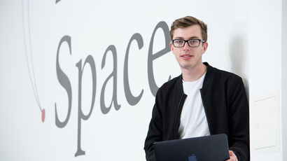 Tom Woollard a resident at Launch Space