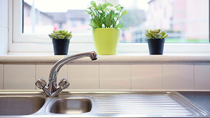 The front of student accommodation