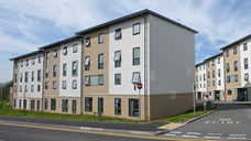 Student accommodation on Frenchay Campus