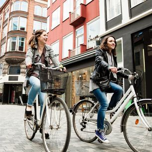 students explore Copenhagen during their summer abroad