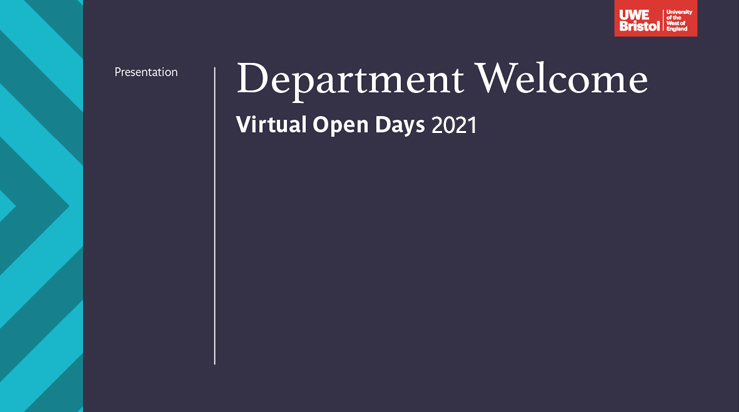 Department welcome