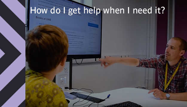 How do I get help when I need it