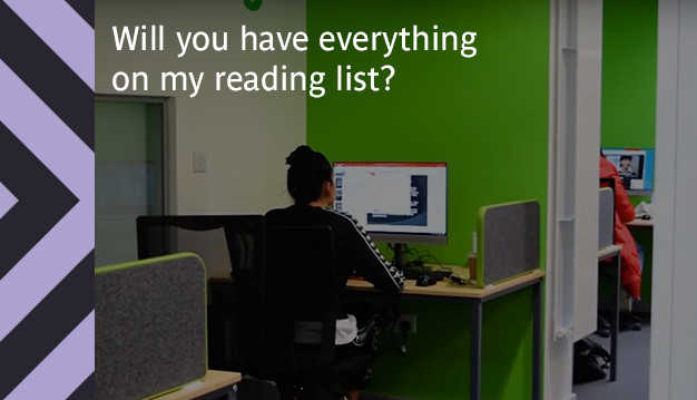 Will you have everything on my reading list