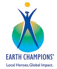 Earth champions logo