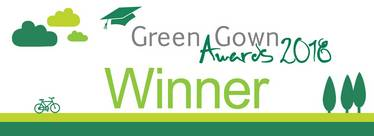 Green Gown Awards 2018 winner logo
