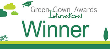 International Green Gown Awards winner logo