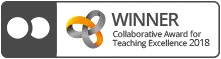 Collaborative Award for Teaching Excellence logo