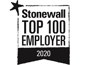 Stonewall Top 100 Employer 2020