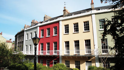 Terraced housing in Bristol