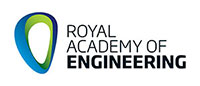 Royal academy of engineering logo.