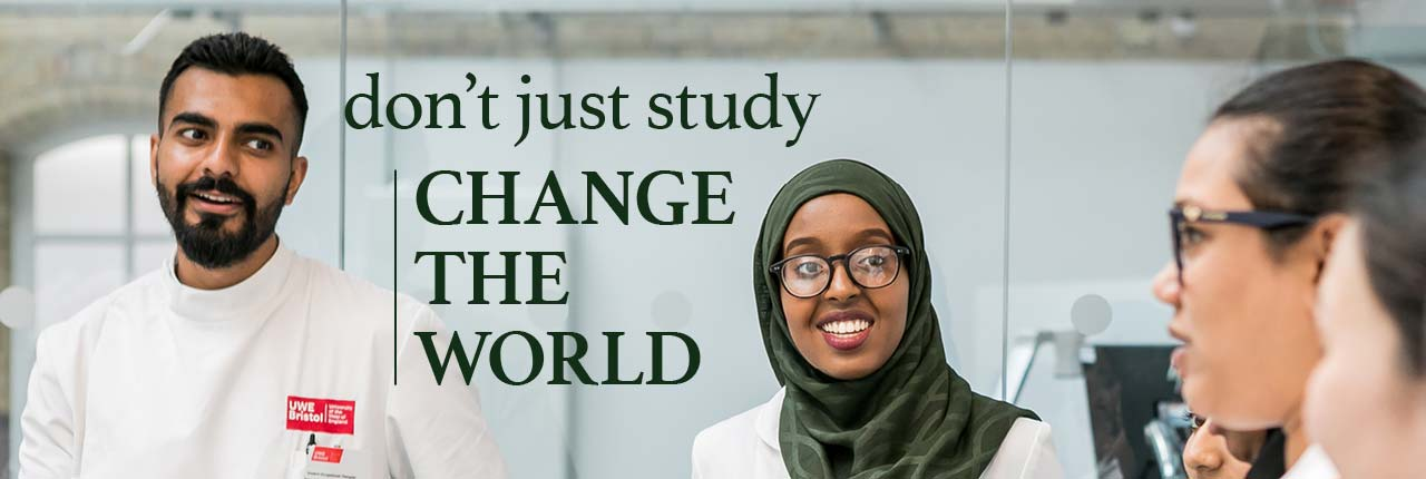 Don't just study - change the world