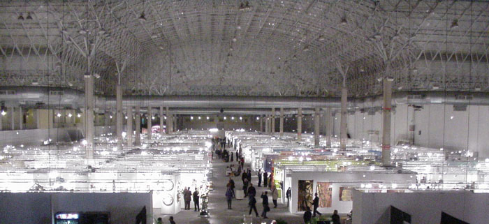 A View Of The Sofa Expo Stands